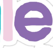 Glee by brittany Sticker