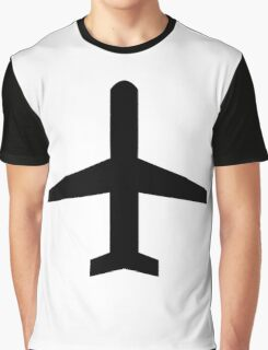 Airplane Graphic T-Shirt