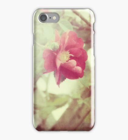 grandma's roses iPhone Case/Skin