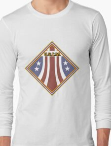 Colonial Marines Placard Long Sleeve T-Shirt