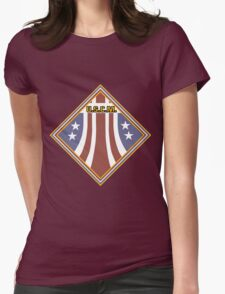 Colonial Marines Placard Womens Fitted T-Shirt