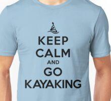 Keep Calm and Go Kayaking LS Unisex T-Shirt