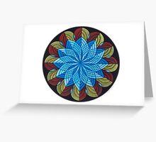 Sacred Mandala Card Full Color Greeting Card