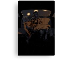 Backseat Pietà Canvas Print