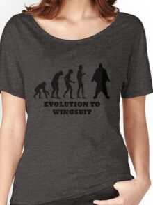 Evolution to Wingsuit Women's Relaxed Fit T-Shirt