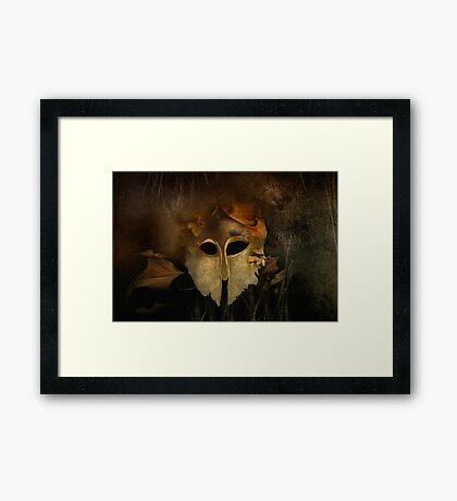 Hurt Not the Earth. the Sea nor the Trees Framed Print