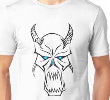 Blue eyed Devil Tribal Unisex T-Shirt