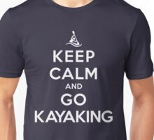 Keep Calm and Go Kayaking DS Unisex T-Shirt