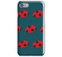 Lady Bug Pattern iPhone Case/Skin