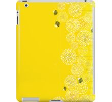 Bees over the Dandelions - Horizontal iPad Case/Skin