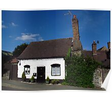 Squatters Cottage, Much Wenlock Poster