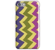 Zigzag Ikat Pattern iPhone Case/Skin