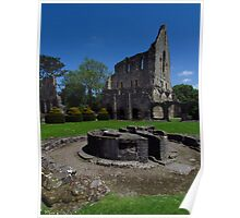 Chapter House & Lavabo, Wenlock Priory Poster