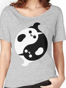 Yin Yang Narwhals Women's Relaxed Fit T-Shirt