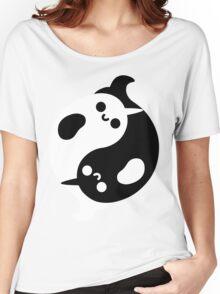 Yin Yang Narwhals Women's Relaxed Fit T-Shirt