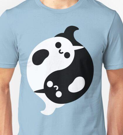 Yin Yang Narwhals Unisex T-Shirt