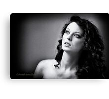 Miss K Canvas Print