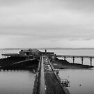 Old Weston-super-Mare Pier by bungeecow