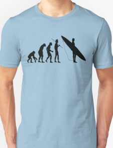 Evolution to Surfer Unisex T-Shirt