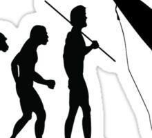 Evolution to Surfer Sticker