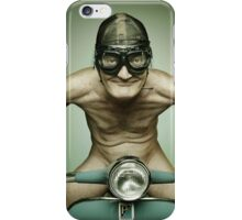 Scooter Man iPhone iPhone Case/Skin
