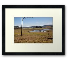 Tocal Homestead & Property, Tocal, NSW Australia Framed Print