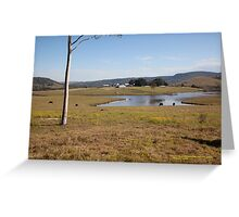 Tocal Homestead & Property, Tocal, NSW Australia Greeting Card