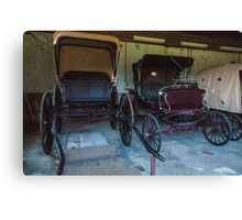 Carriages. Canvas Print