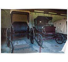Carriages. Poster