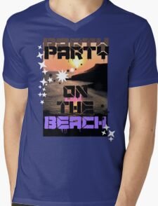 Beach View  Mens V-Neck T-Shirt