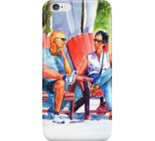 Relaxing afternoon iPhone Case/Skin