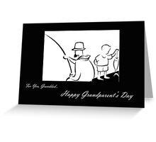 Grandparent's Day card for Grandfather Greeting Card