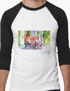 Relaxing afternoon Men's Baseball ¾ T-Shirt