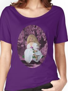 (✿◠‿◠)SWINGING WITH THOUGHTS OF YOU TEE SHIRT(✿◠‿◠) Women's Relaxed Fit T-Shirt