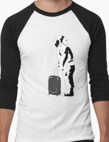 astronaut against crisis Men's Baseball ¾ T-Shirt