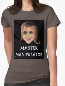 MASTER MANIPULATOR Womens Fitted T-Shirt
