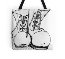 Boots and All Tote Bag