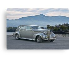 1937 Packard Custom Sedan Canvas Print
