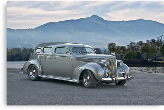 1937 Packard Custom Sedan by DaveKoontz