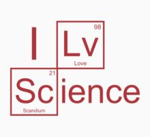 I Love Science by BrightDesign