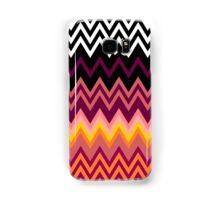 Retro Zig Zag Patterns Samsung Galaxy Case/Skin