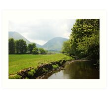 Living in the Lakes Art Print