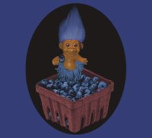 ❀◕‿◕❀TROLL LOVING BLUEBERRIES TEE SHIRT SO CUTE ❀◕‿◕❀LOL by ╰⊰✿ℒᵒᶹᵉ Bonita✿⊱╮ Lalonde✿⊱╮