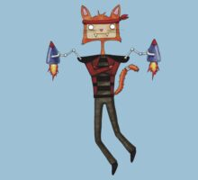 Rocket Cat by Michowl
