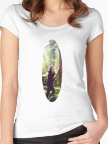 Peace of The Countryside. Women's Fitted Scoop T-Shirt