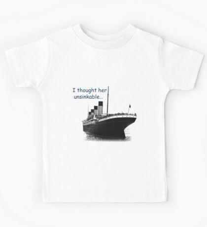 RMS Titanic Kids Tee