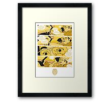 Holy Jesus, What Are These Goddammed Animals? Framed Print
