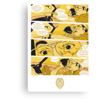 Holy Jesus, What Are These Goddammed Animals? Canvas Print