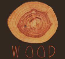 Wood:Tee:Shirt T-Shirt