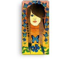 Emo Girl Canvas Print